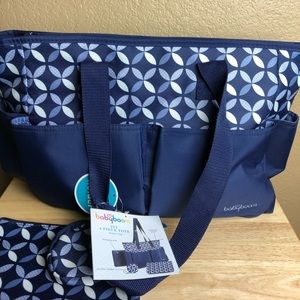 BabyBoom Ivy 4 piece Tote Diaper Bag NWT